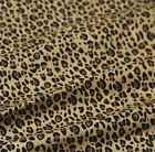 "Good Quality 1/2 yard by the yard Leopards 100% Cotton Plain Fabric 43"" AQ"