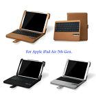 Bluetooth Wireless Keyboard Leather Case Cover for Apple iPad Air 5 5th Retina
