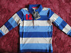 BNWT Joules Junior Boys Gilby Long Sleeved Rugby Top, RRP£29.95-£31.95