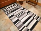 Small Large Silver Black Long Hall Runner Kitchen Floor Rugs Anti-Slip Back Mats