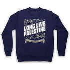 LONG LIVE PALESTINE LONG LIVE GAZA ANTI WAR PROTEST ADULTS SWEATSHIRT SWEATER