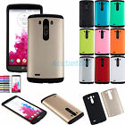 Shockproof Hard Armor Rugged Hybrid Impact Case Cover for LG G3 D850 D855