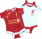 Official Liverpool F.C. Licensed Product - 2013/14 Pack of 2 Bodysuits BNWT