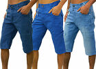 Mens Eto Designer Jeans Combats Denim Shorts Stylish Smart Gym Training Cargo