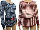 Womens Girls All In One  Short Cotton Onesie  Lounger Playsuit Pyjamas Shorts