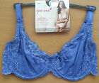M&S PER UNA SUPER SOFT COMFORT LACE FULL CUP BALCONY BRA NON PADDED BNWT