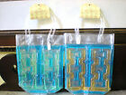 CYPRESS HOME GREEK KEY WINE BOTTLE COOLER FREEZER BAG: CHOICE of 4 COLORS NWT