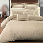 Sara Luxury 7-Piece Comforter Duvet Cover Set Sizes: Full/Queen, King/Cal King