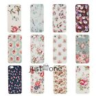 Retro Floral Pattern Hard Skin Case Cover Back Protector for Apple iPhone 5 5S