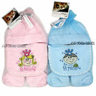 New Baby Gifts Pitter Patter 4 Piece Gift Set Boys or Girls Prince / Princess