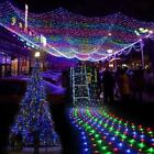 96 204 672 LED Bulbs Mesh Net String Party Christmas Wedding Decoration Lights
