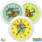 NEW Scooby Doo Personalised Wall Clock Gift Kids Childrens Scrappy *FAST POST*