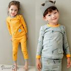 "[Korea] 2pcs Baby Infant Toddler Kid Boy Clothes Sleepwear Pajama Set ""Straw"""