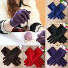 Fashion Women's Evening Party Wedding Formal Prom Stretch Satin Gloves 9 Colors
