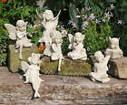 Fairy Garden Ornaments Memorial Statues Polystone Figurines Angels Stone Effect