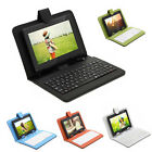 "IRULU X1 7"" Tablet 8GB Android 4.2 Dual Core Cam WIFI Black w/ Gridding Keyboard"