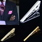 New Clasp Tack Bar Metal Stainless Necktie Clips Men's Tie Pins Gentlemen Decor