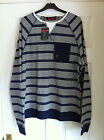 DUCK & COVER MAXWELL SWEATER - MENS - BLUE - BNWT - RRP £45