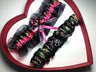 NEW ARMY Hot pink camouflage  Wedding Garter Hunting GetTheGoodStuff Camo Prom