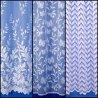 CHOICE OF THREE BEAUTIFUL NET CURTAIN DESIGNS - FREE POSTAGE!