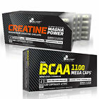 Creatine Magna Power + BCAA 60-180 Caps Muscle Growth Branched Chain Amino Acids