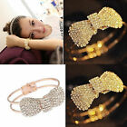 Women's Fashion Elegant Wristband Bangle Crystal Cuff Bracelet Bling Hand Chain