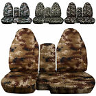 CC98-03 FORD RANGER DIGITAL CAMO CAR SEAT COVERS 60-40 seat+CONSOLE COVER,CHOOSE