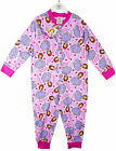 Girl's Princess Sofia the First Onesie Popper Sleepsuit Pyjamas 18mths-5yrs NEW
