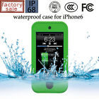 "Water Shock Dirt Snow Proof Triple Layer Kick-Stand Case Iphone 6 4.7"" 5.5"" New"