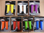 EVOKE Rubber Handlebar Grips Bike Cycle BMX Flange Colours NEW Cheap Economy