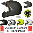 Dual sport helmet dual purpose motorcycle full face helmet motocross Dirt bike