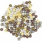 Wholesale Lot of 24 Brass 8mm Round Stardust Beads for Jewerly Findings Beadings