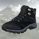 Merrell Mens Phoenix GTX Goretex Mid Waterproof Walking Boots Black - New