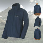 Berghaus Men's RG Insulated Waterproof Raincoat Jacket - Navy Blue - XXL - New