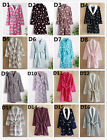 Luxury Womens Mens Thermal Coral Fleece Dressing Gowns Super soft Bath Robe
