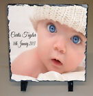 Beautiful Personalised Photograph Slate Plaque Any Text Any Image Present Gift