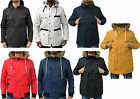 Mens Designer Eto Jeans Jacket Padded Puffer & Parka Long Fur Coat For Winter