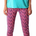 IRON FIST LADIES KUTNA DENIM PINK PURPLE PANTS  (B7B)