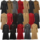 Ladies Wool Cashmere Coat Womens Jacket Outerwear Trench Overcoat Winter Lined