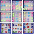 Wholesale Earrings 6 Pairs Charm Stud Ear Candy Colours Fashion Cute Ear Studs