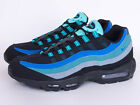 Mens Nike Air Max 95 Trainers 609048 084 Size 12 13 14 shoe Black Hyper Colbalt