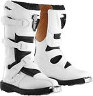 THOR Racing Youth Blitz Boots White YS 1-7