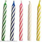 12x Coloured Glitter Party Birthday Candles Celebration Cake Cupcake Candle