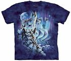The Mountain HIDEN IMAGES FIND 10 WOLVES shirt unisex mens and womens New