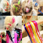 Multi Colors Women Long Straight Synthetic Clip in on Hair Extensions Extender