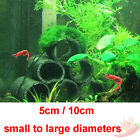 Bamboo Charcoal Aquarium Shrimp Fish Breeding Shelter Cave Moss Logs 5cm 10cm