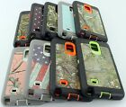 for Galaxy Note 4 - Camo Hybrid Case with Screen Protector & Free Belt Clip