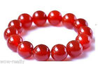 Pretty 8/10/12/14mm Natural Red Agate Beads Round Beads Bracelet