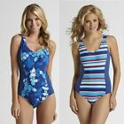Tropical Escape One Piece Swimsuit women's size 10, 12, 14 NEW