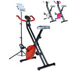 Folding Magnetic Exercise Bike Home Fitness Cardio Weight Loss Machine New XBike